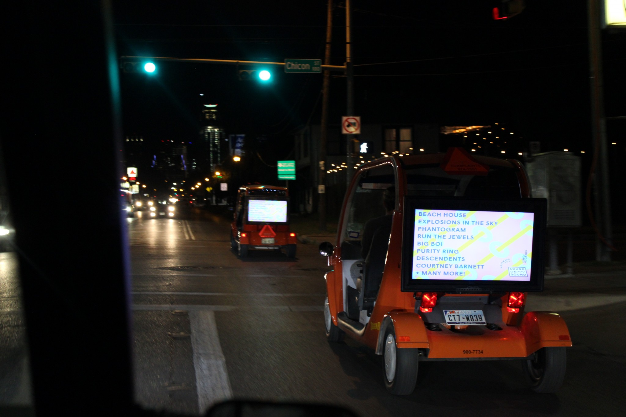 Outdoor advertising Austin, Smart Billboard