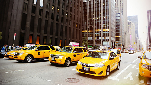 taxicabs-ads for the road